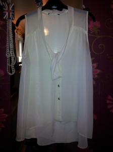 Primark White Blouse